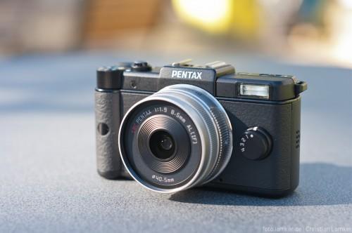 Pentax Q mit StandardPrime-Objektiv