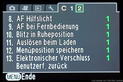 Benutzerfunktionen S. 2