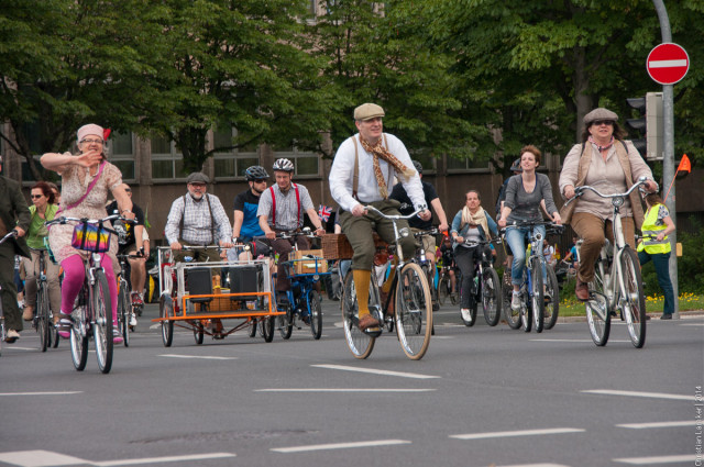 Fahrradsternfahrt 2014: Tweed-Fahrt