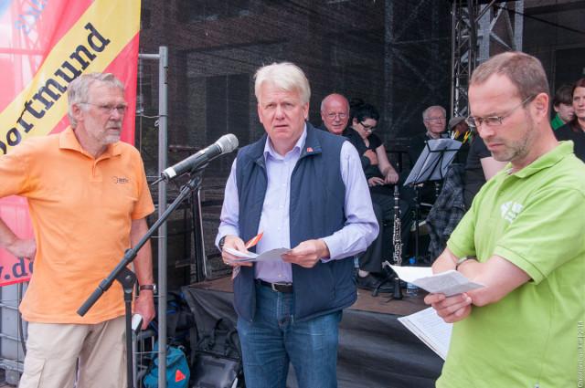 Fahrradsternfahrt 2014: Podiumsdiskussion