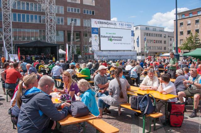 Fahrradsternfahrt 2014: Fahrradfest