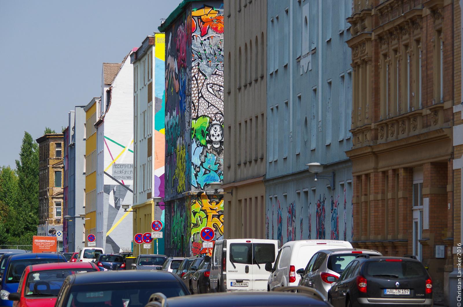 Halle Landsberger Straße